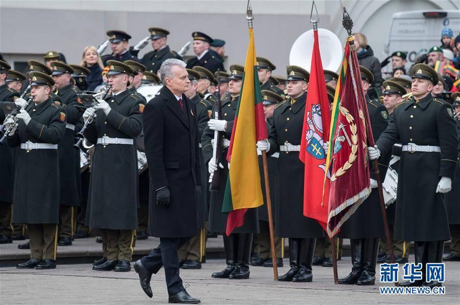 (国际)(4)立陶宛庆祝独立102周年
