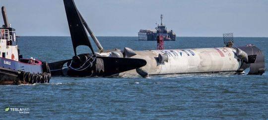 SpaceX第五批星链成功发射 火箭助推器回收失败落入大海