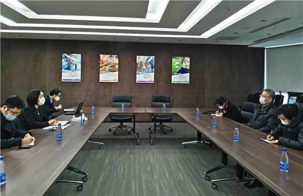 市友协会长沙海林调研在沪美企艾默生复工复产情况