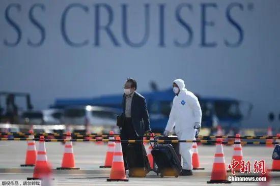 """中国新闻社■691人感染!""""钻石公主""""号邮轮给出何种警示?"""