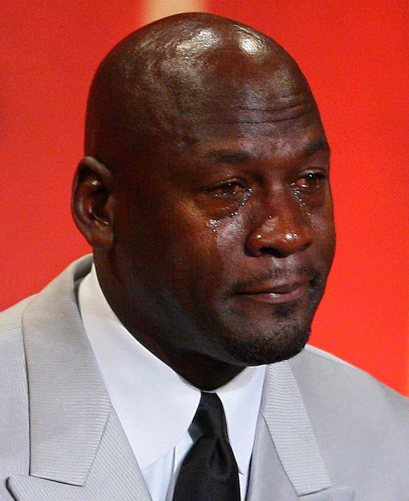科比追思会乔丹流泪演讲 自侃会成表情包