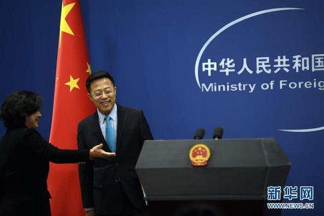 新任外交部发言人赵立坚亮相并主持当日例行记者会