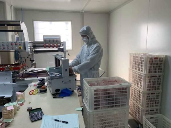 送政策、送口罩、帮复工 政府帮助虹口这家企业3天研制出病毒采样管