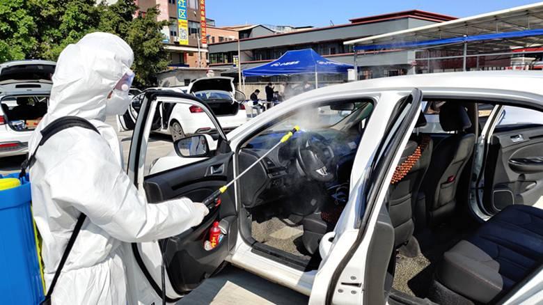 宁夏中卫患者所乘网约车消毒隔离,司机体温正常没有疑似症状