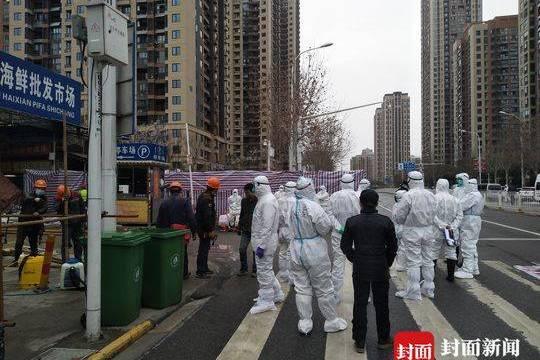華南海鮮市場今起開展大規模消殺,預計3天內消毒清理完畢德州扑克规则