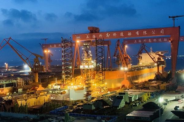 外高橋造船又一艘海上浮式生產儲油船出塢 2號船塢為建造國產郵輪升級德州扑克官方网站