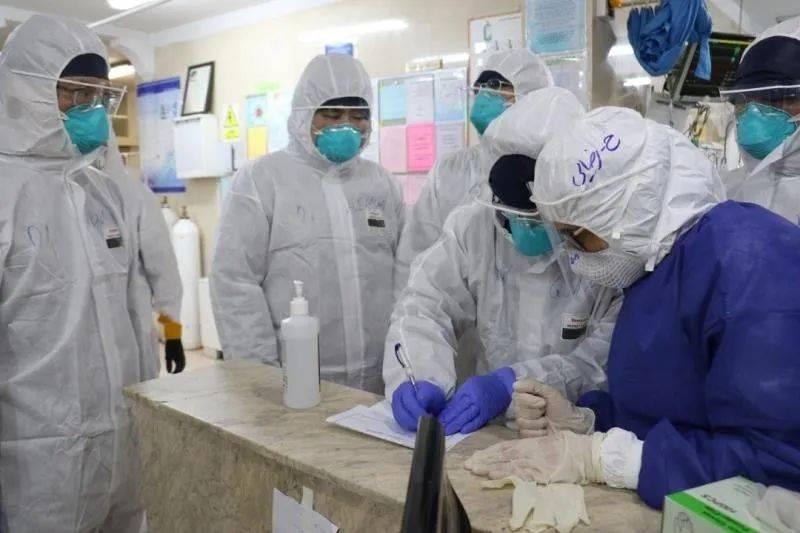 中国志愿专家组考察伊朗当地医院。(图片由受?谜咛峁?
